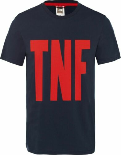 THE NORTH FACE TNF T92S5ABER Cotton T-Shirt Short Sleeve Tee Mens All Size New
