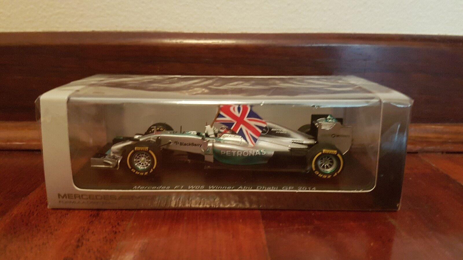Mercedes Wgp05 Spark L.Hamilton 2014 1 43