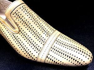 italien-designer-Mocassins-fait-a-la-main-a-trous-beige-Spport-39