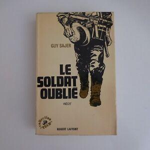 Guy-SAJER-1976-Le-soldat-oublie-editions-Robert-LAFFONT-litterature-recit-N5593