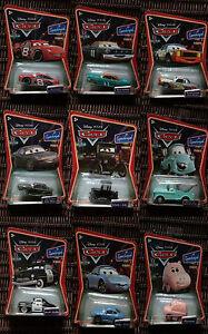 Bob Darrell Disney Pixar Cars Colour Changers McQueen Doc Hudson Chick Hicks
