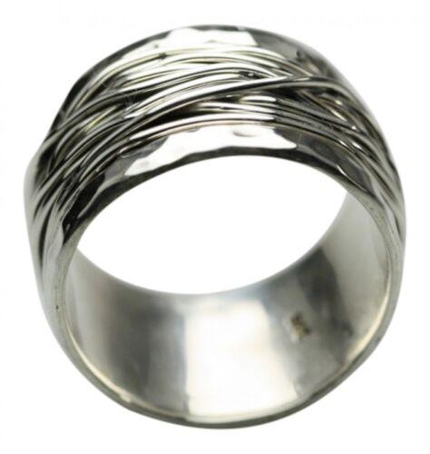 Breiter besonderer 925er Silberring