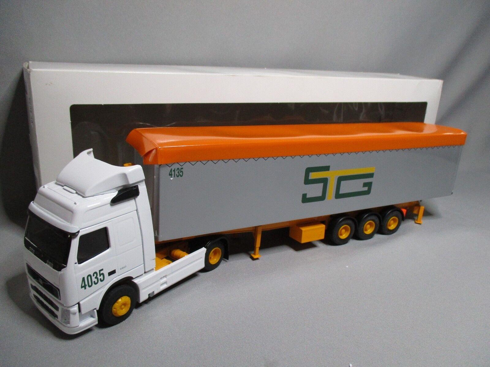 Dv8034 eligor 1 43 semi volvo fh 460 restyle dumpster cerealiere stg 112675 rare