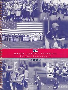 ORIGINAL-2002-MAJOR-LEAGUE-BASEBALL-IN-THE-COMMUNITY-FREE-SHIPPING-IN-THE-USA