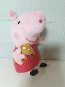 Peppa-Pig-TY-BEANIE-BUM-Peluche-giocattolo-morbido-peluche