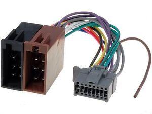 panasonic cq car radio stereo 16 pin grey socket wiring harness image is loading panasonic cq car radio stereo 16 pin grey