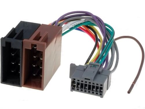 Panasonic Cq-C1465n Cq-C1115n etc Coche Radio Estéreo Arnés de cableado Telar Plomo ISO