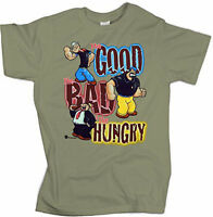 Popeye Brutus Wimpy Bluto T Shirt Xl Tags Good Bad Hungry The Sailor Man