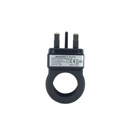 NiteSafe Rechargeable Veilleuse 4 fonctions DEL Panne électrique Lumière et Torche