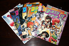 Dirty Pair Comic Lot Eclipse - I, II, and Plague of Angels