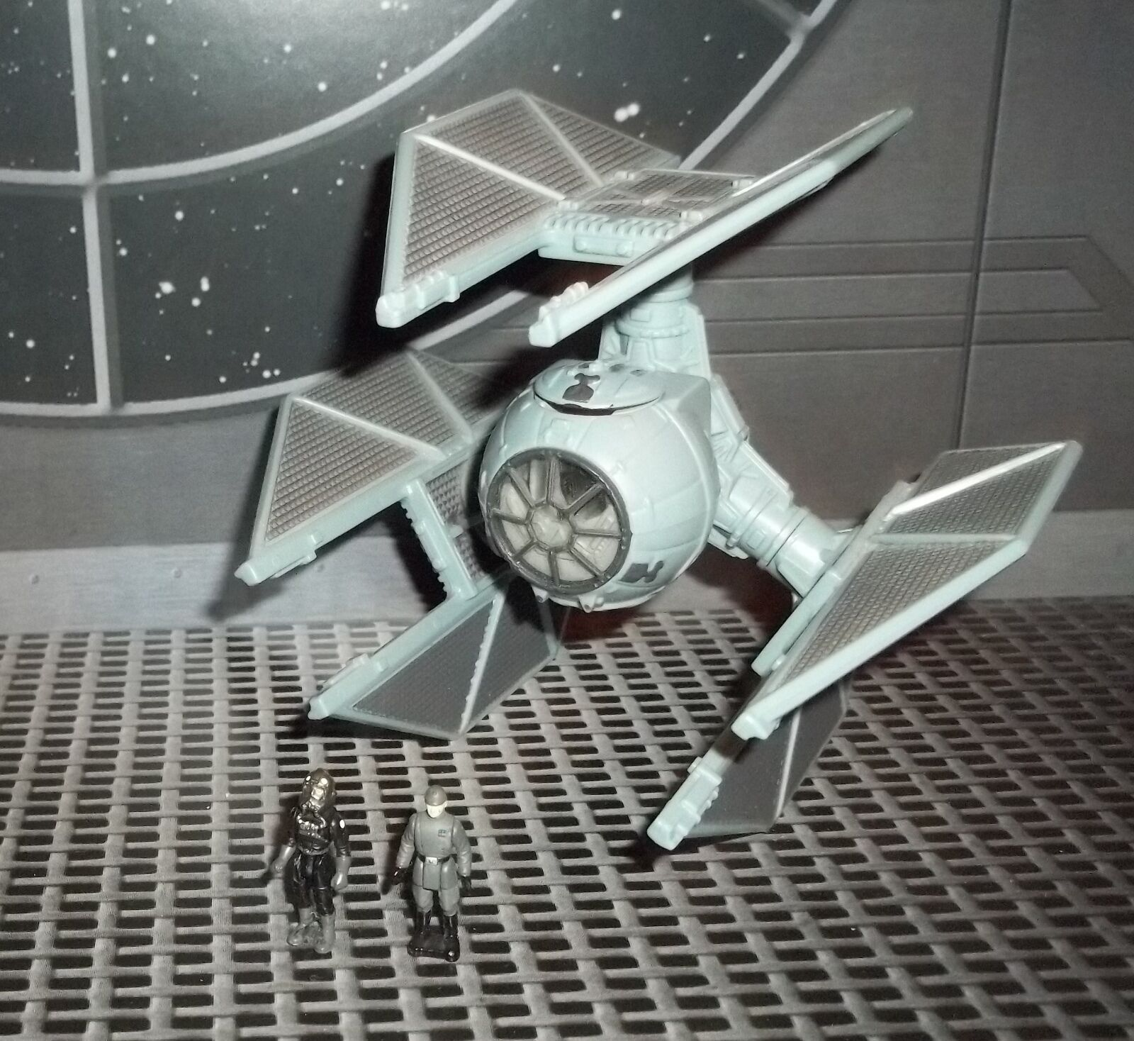 Flota de acción de la guerra de las galaxias serie W Moff Jerjerrod imperiales TIE DEFENDER & Tie piloto