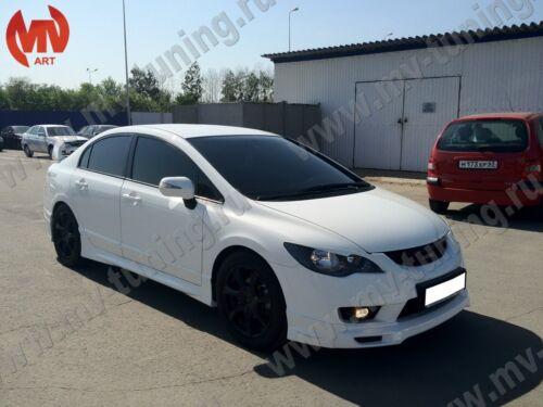 Rear Wing Composite Spoiler Mugen Style for Honda Civic 4D 8th gen 2006-2012
