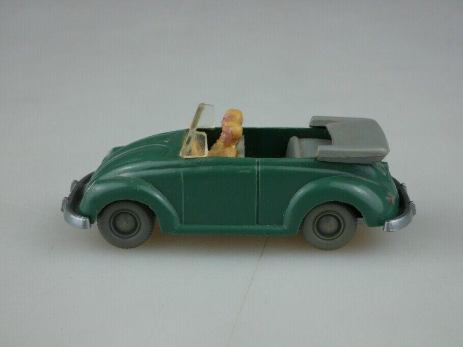 Acides 304 WIKING 1 87 VW  Beetle Bug Cabriolet Type 2 Patinavert sans Box 513342  authentique en ligne