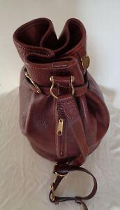 Bag Authentique Cuir Tbeg En Sac À Réf Mulberry Vintage Main 631229 qZg1vU