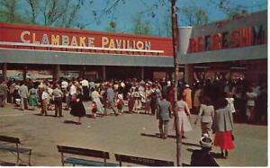 LINCOLN-PARK-DARTMOUTH-MA-POSTCARD-OF-THE-CLAMBAKE-PAVILION