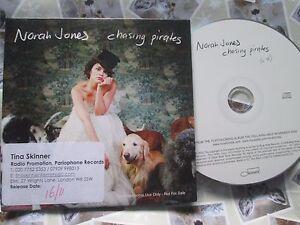 Norah-Jones-Chasing-Pirates-Label-Blue-Note-509993-0927629-Promo-UK-CD-Single