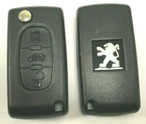 Coque-Boitier-CLE-PLIP-telecommande-Peugeot-Partner-EXPERT-CE0536-3-Boutons