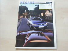 52217) Renault Megane Coupe Cabrio Prospekt 05/2000