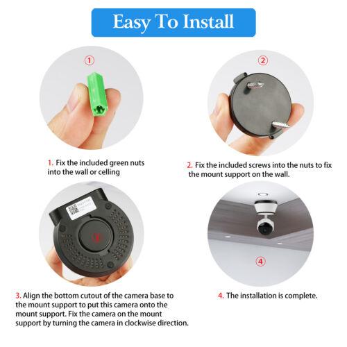 1080P HD Wireless IP Security Camera Indoor CCTV Home Smart Wifi Baby Monitor