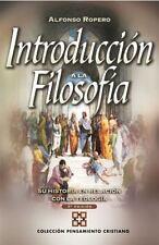 Introducción a la Filosofia : Su Historia con Relacion a la Teologia by...