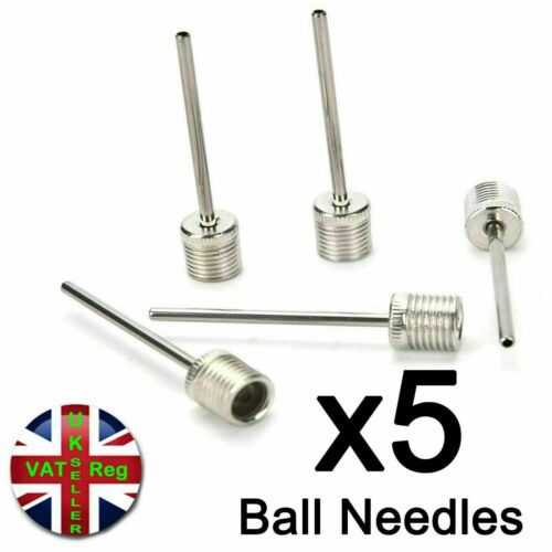 Inflator needle air pin adapter valve pump football rugby volley net ball soccer