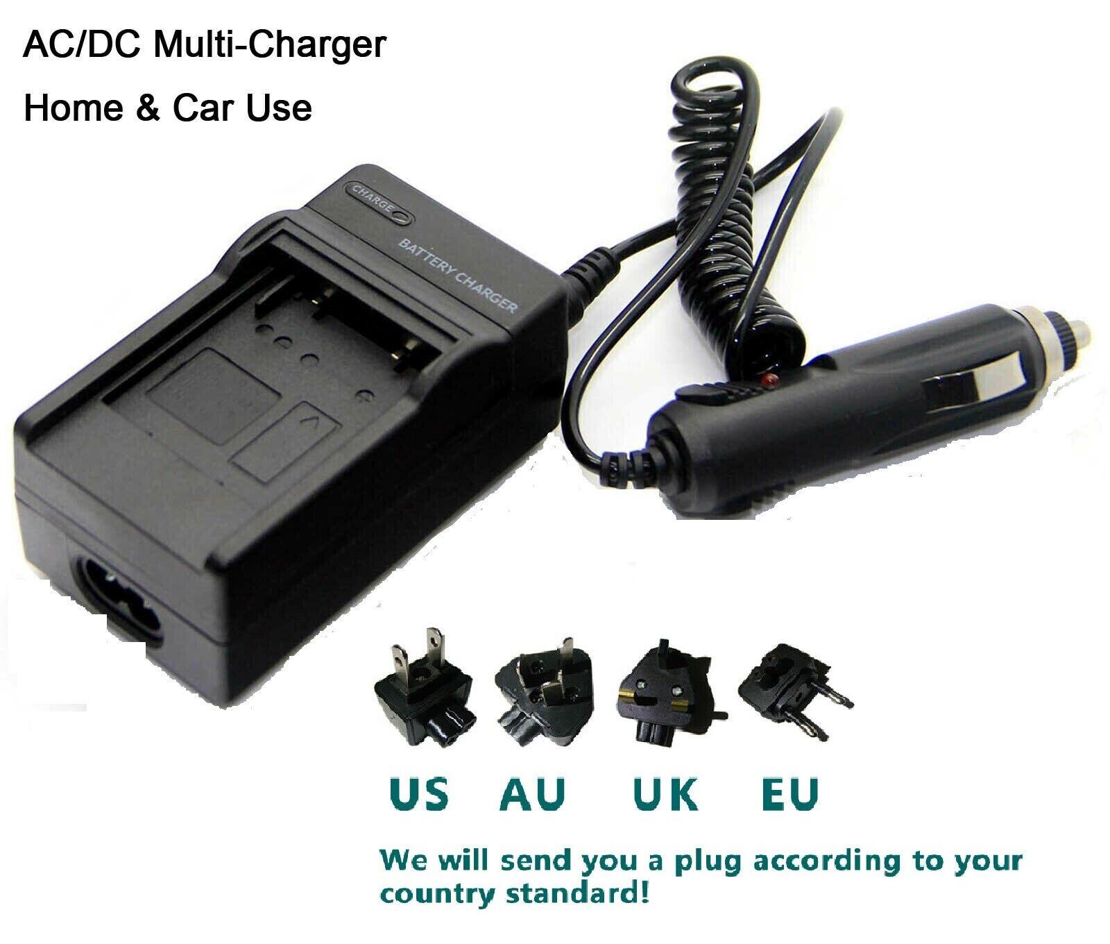 Battery charger for HP PhotoSmart R742 R742V R742xi li40 L2508A Digital Camera