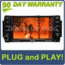 JEEP Chrysler Dodge Carvan RBZ XM DVD MYGIG RADIO CD RB2 Highspeed Aux USB BLUE