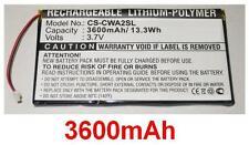 Batteria 3600mAh Per Cowon PMP A2 A3 TIPO 420507I05 HPP6558112 HY07I10