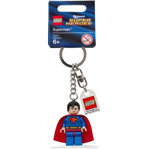 LEGO Keychain Portachiavi Super Heroes MARVEL DC COMICS a scelta UFFICIALI