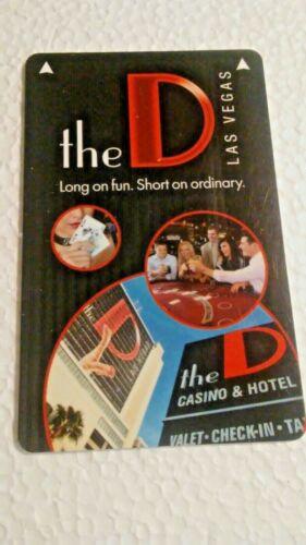 "Room Key--Las Vegas Hotel /& Casino The /"" D /"""