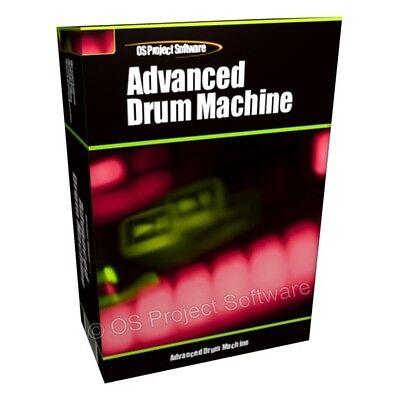 100% Vero App Uk Professional Drum-machine Produzione Di Musica Beat Strumento Software Audio-