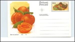 RSA-Suedafrika-Ganzsachen-Postcard-1982-Fruechte-Motiv-AK