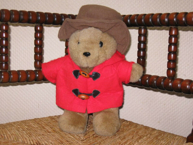 Vintage Dutch Paddington Bear 30 CM