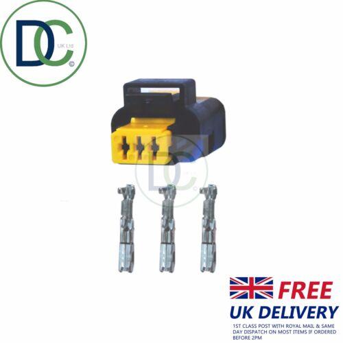 Sensore di pressione Spina//Connettore 3 pin per adattarsi Delphi 9307514A per PEUGEOT X 1