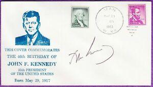 John F. Kennedy JFK Genuine Autograph SIGNED ON HIS LAST BIRTHDAY 5/29/63 COA