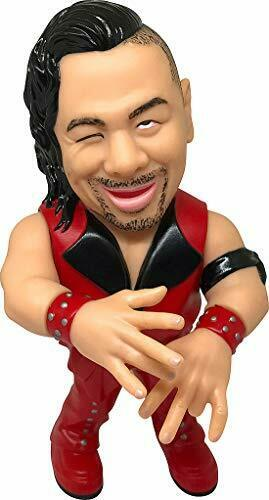 16d Sofubi collection 004 WWE Shinsuke Nakamura Figure Pro-Wrestling Ingram