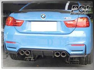 Details About 2014 Bmw F80 M3 F82 M4 V Style 3pcs Carbon Fiber Rear Bumper Diffuser