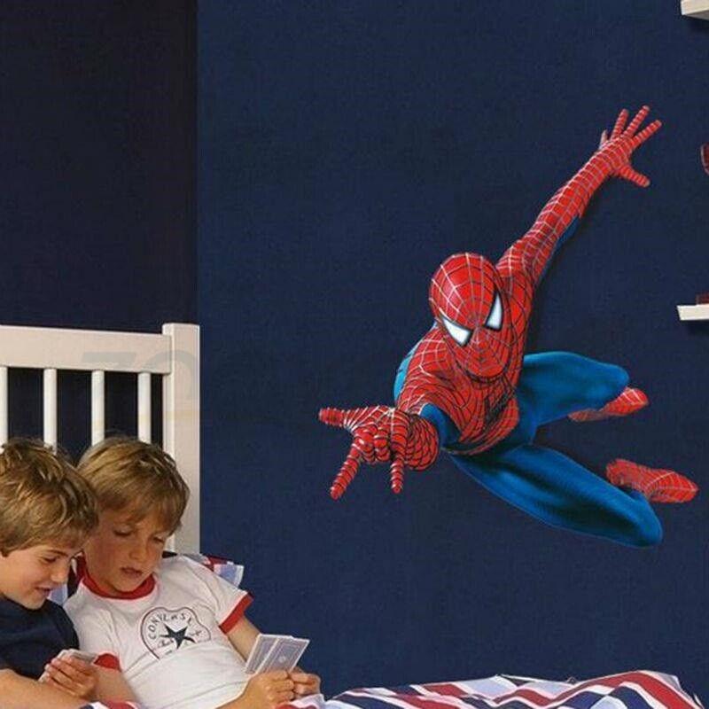 Wallstickers, Spiderman wallstickers med Spiderman