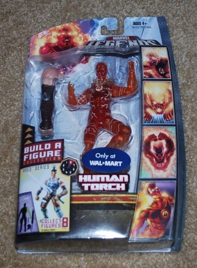 MARVEL LEGENDS Human Torch BAF Ares bras gauche seulement à WALMART
