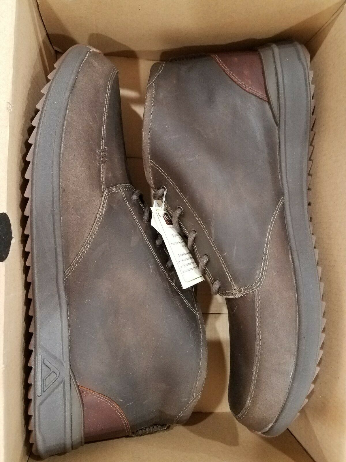 REEF ROVER MID WT MENS BOOTS SHOES SLATE RF0A3623 SIZE 9 WATER PROOF LEATHER
