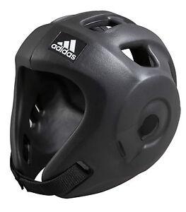 Adidas-Kopfschutz-Adizero-black-Kickboxen-Taekwondo-WTF-und-WAKO-zugelassen