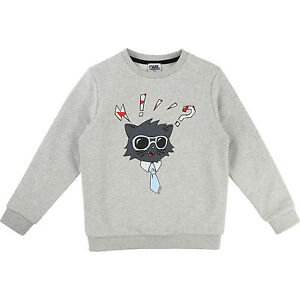 KARL-LAGERFELD-Kids-Sweatshirt-Choupette-104-110-116-122-128-134-140-146-152