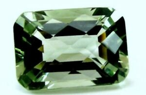 Loose Gemstones WHITE TOPAZ 7 x 5 MM EMERALD CUT ALL NATURAL AAA