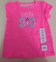 Girls 18 Months Little Sis Shirt $12 S/s Sister Neon Gorgeous