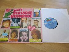 LP Dino's Deutsche Hitparade Schlager Anja Krenz  Vinyl Schallplatte DINO MUSIC