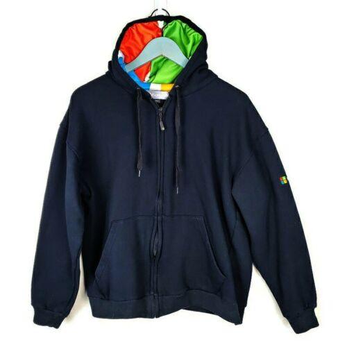 MICROSOFT Windows - Men's Zip Up Hoodie Sweatshirt
