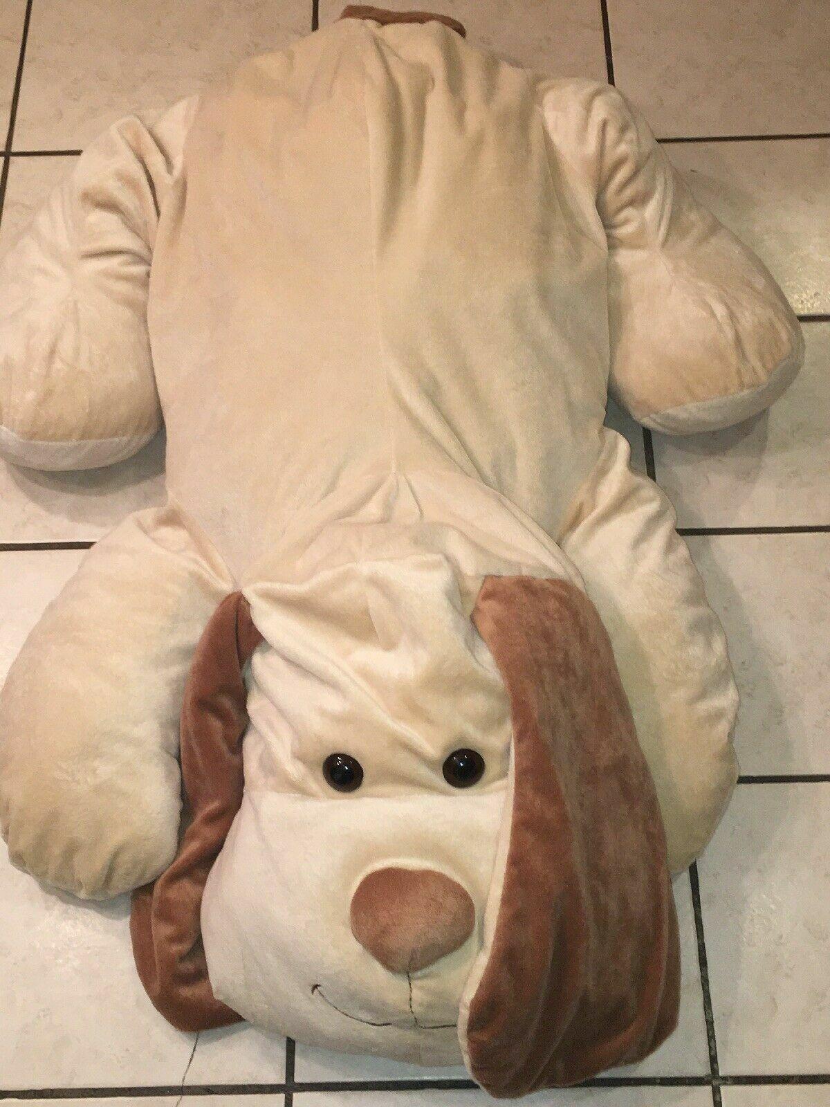 MINT 41   JUMBO Toys R Us  Plush Brown Tan DOG