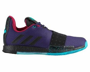 3fc0623e9bfe Adidas Harden Vol. 3 Drew League Mens B42005 Purple Basketball Shoes ...