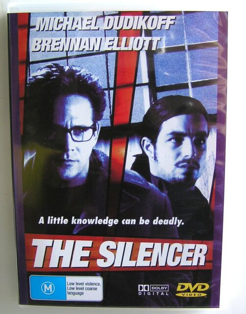 THE SILENCER (1999) DVD MOVIE Michael Dudikoff, Brennan Elliott, Terence Kelly