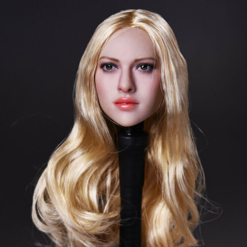 KIMI TOYS 1//6th Long Curls//Straight Hair Head Carving Sculpt Model KT004 005 010